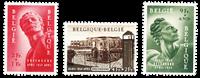 Belgien 1954 - OBP 943-45 - Ubrugt