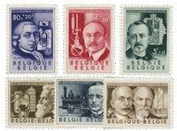 Belgien 1955 - OBP 973-78 - Ubrugt