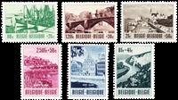 Belgique 1953 - Neuf avec charnière - OBP 918-23