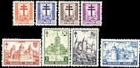 Belgique 1951 - Neuf avec charnière - OBP 868-75