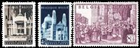 Belgique 1952 - Neuf avec charnière - OBP 876-78