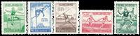 Belgique 1950 - Neuf avec charnière - OBP 827-31