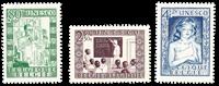Belgique 1951 - Neuf avec charnière - OBP 842-44