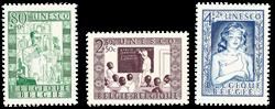 Belgien 1951 - OBP 842-44 - Ubrugt