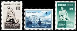 Belgien 1951 - OBP 860-62 - Ubrugt
