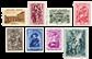 Belgien 1939 - OBP 504-11 - Ubrugt