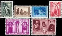Belgien 1939 - OBP 513-18 - Ubrugt