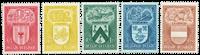 Belgium 1946 - OBP 743-47 - Unused