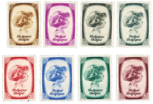 Belgien 1938 - OBP 488-95 - Ubrugt