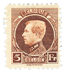Belgien 1922 - OBP 218 - Postfrisk