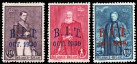 Belgique 1930 - Neuf avec charnière - OBP 305-07