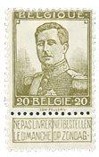 Belgique 1912 - Neuf avec charnière - OBP 112