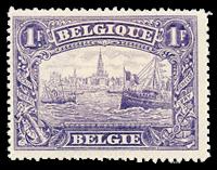 Belgium 1915 - OBP 145 - Unused
