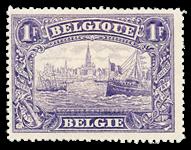 Belgien 1915 - OBP 145 - Ubrugt