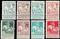 Belgique 1911 - Neuf avec charnière - OBP 92-99