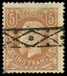 Belgien 1869 - OBP 37 - Stemplet