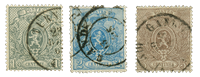 Belgique - Oblitéré - OBP 23-25