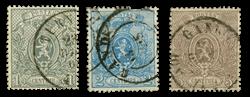 Belgien - OBP 23-25 - Stemplet