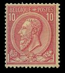 Belgien 1884 - OBP 46b - Ubrugt