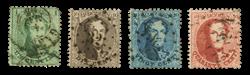 Belgien - OBP 13-16 - Stemplet