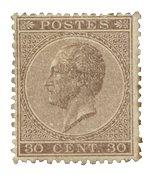 Belgique 1865 - Neuf avec charnière - OPB 19