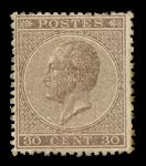 Belgien 1865 - OPB 19 - Ubrugt
