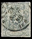 Belgien - OBP 22 - Stemplet