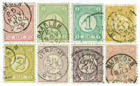 Netherlands 1894 - NVPH 30-33a - Cancelled