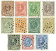 Holland 1872 - NVPH 19/29 - Stemplet