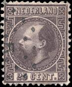 Nederland 1867 - Nr. 11II - Gebruikt