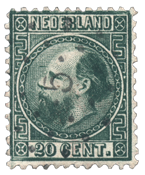 Holland 1867 - NVPH 10I - Stemplet
