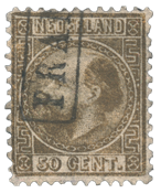 Nederland 1867 - Nr. 12I - Gebruikt