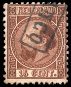 Holland 1867 - NVPH 9I - Stemplet