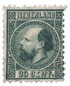 Pays-Bas - Roi Willem III 1867 Type II, NVPH 10II,  obl.