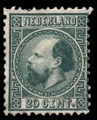 Nederland 1867 - Nr. 10II - Gebruikt
