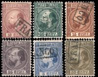 Holland 1867 - NVPH 7-12I - Stemplet