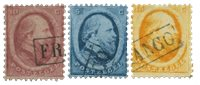 Pays-Bas - Roi Willem III 1864 Haarlem, NVPH 4-6B,  obl.