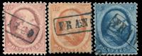 Nederland 1864 - Nr. 4-6A - Gebruikt