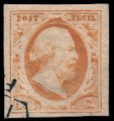 Holland - NVPH 3 - Stemplet