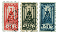 Holland 1923 - NVPH 121-131 - Stemplet