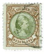 Holland 1893-1896 - NVPH 46 - Stemplet