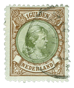 Holland 1893-1896 - NVPH 46 - Stemplet