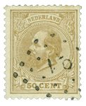 Pays-Bas - Roi Willem III 1872-1888, NVPH 27, obl.