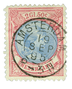 Holland 1893-1896 - NVPH 47 - Stemplet