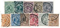 Holland 1893-1894 - NVPH 34-44 - Stemplet