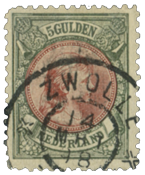 Holland 1893-1896 - NVPH 48 - Stemplet