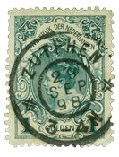 Holland 1898 - NVPH 49 - Stemplet