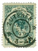 Holland 1898 - NVPH 49 - Stemplet