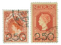 Holland 1920 - NVPH 104-105 - Stemplet