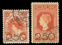 Pays-Bas - 1920, NVPH 104-105, obl.